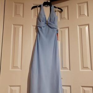 Roberta Bridal Halter Dress